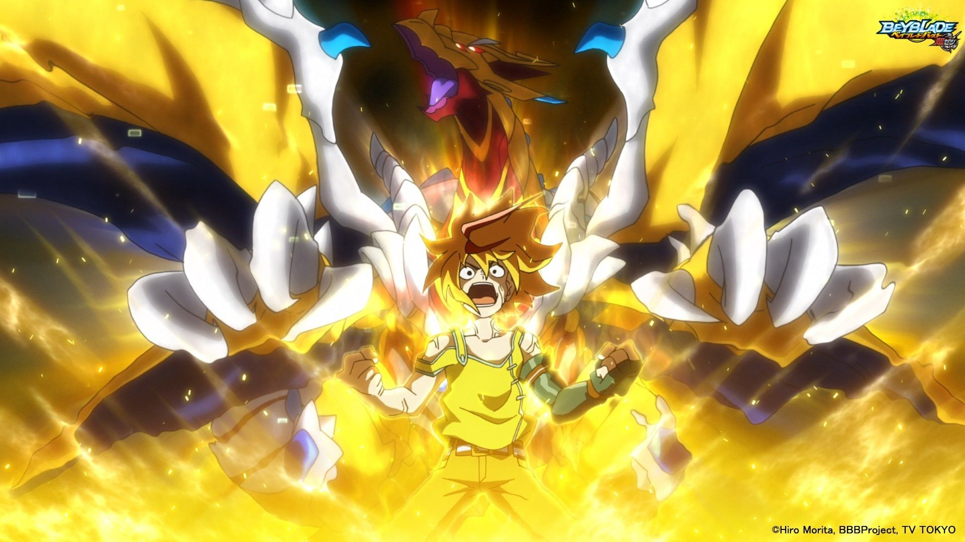 The Avatar Of Geist Fafnir Appears Behind Free Elementary Art Projects Anime Galaxy Beyblade Characters