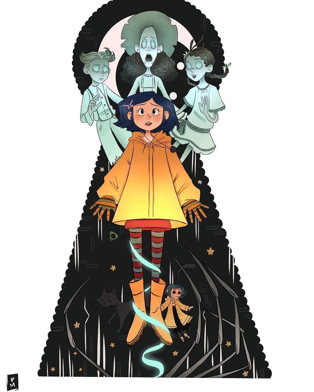 Awesome Coraline Fanart For The Hot Topic Contest Do You Have Any Fanart You Want Me To See Or Repost Just Tag Me In Y Coraline Jones Coraline Coraline Movie
