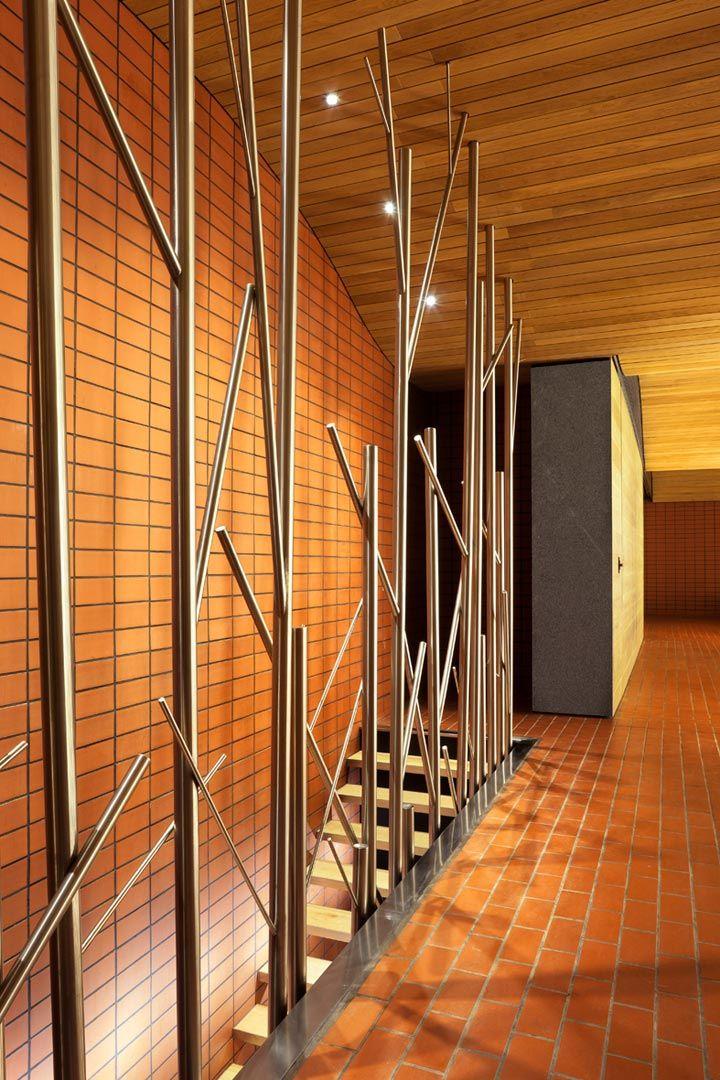 Reforma de la sala de barricas de las bodegas Vega-Sicilia - Fernando Salas salasstudio - Valbuena de Duero, Valladolid, Spain