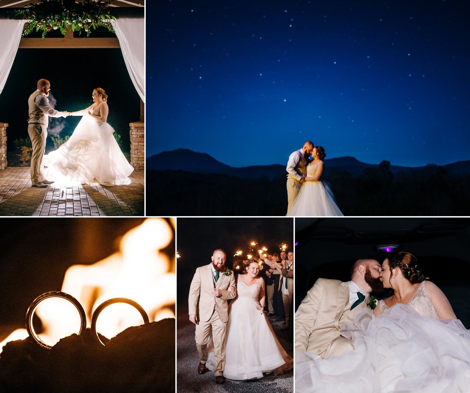 Alden & Jessica's Mountain Lodge Wedding At Glass Hill