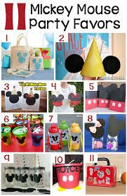 mickey mouse clubhouse party favor box - Google Search