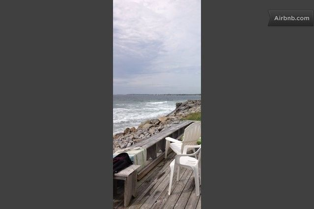 Private Beach With Rustic Cotttage In Biddeford With Images Rustic Cottage Renting A House Biddeford