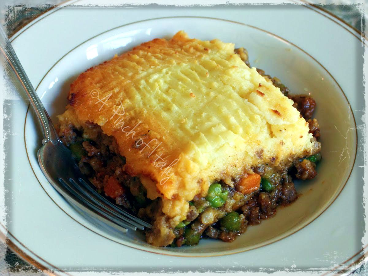 Cottage Pie, Ricetta Internazionale, A Pinch of Italy ...