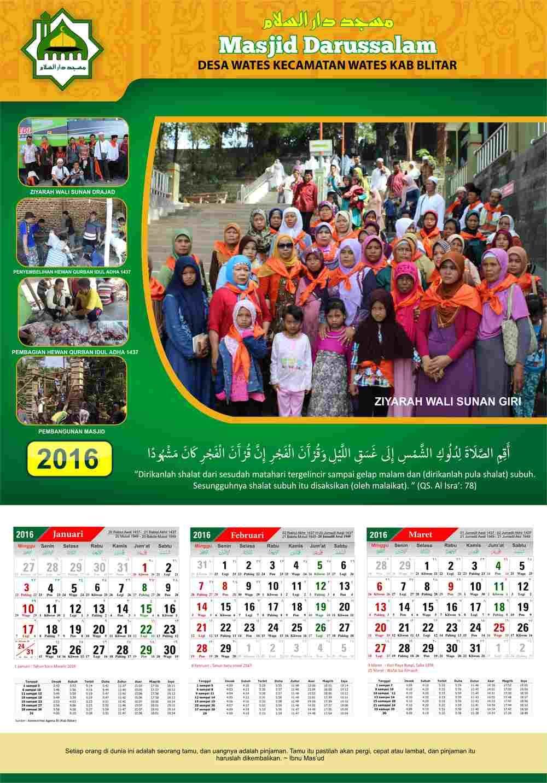 Desain Undangan Kalender Cdr - Kartu Undangan