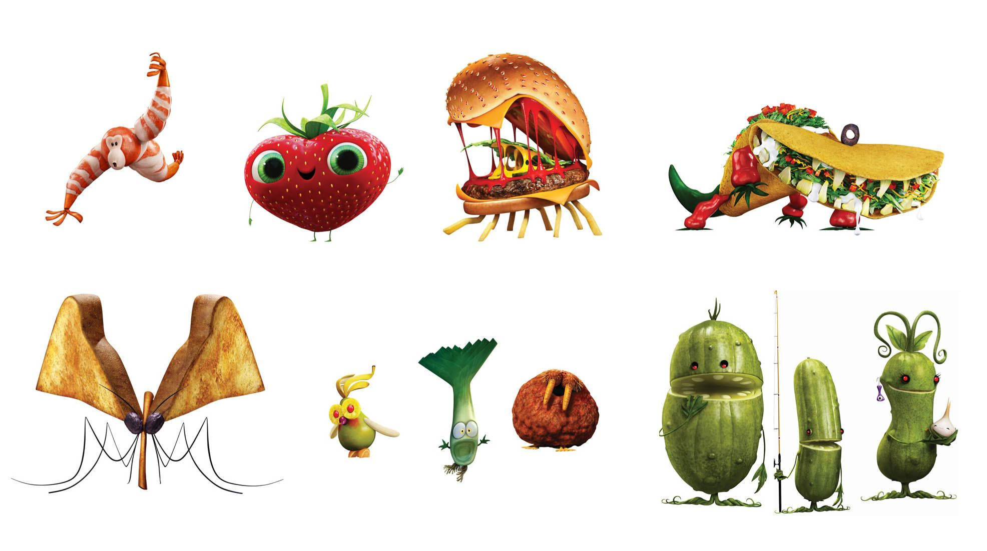 Cloudy 2 Isn T Quite As Spicy A Meatball As The Original Character Design Animation Meatballs 2 Character Design