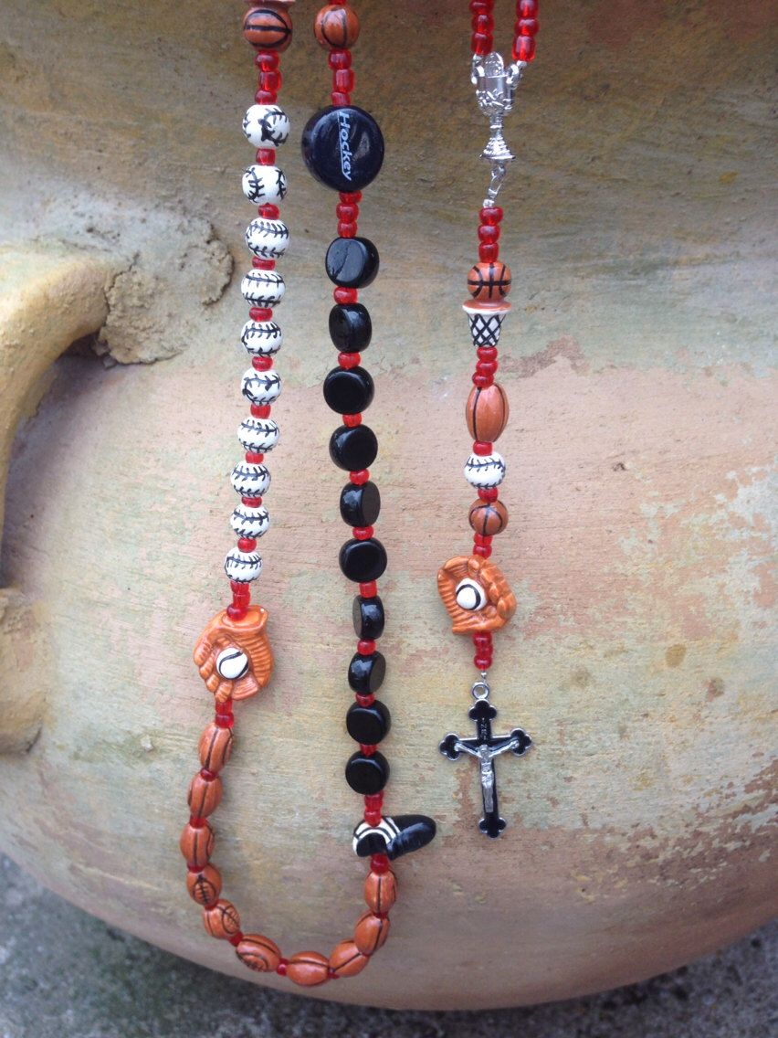 Combo multisport rosary perfect for first communion gift