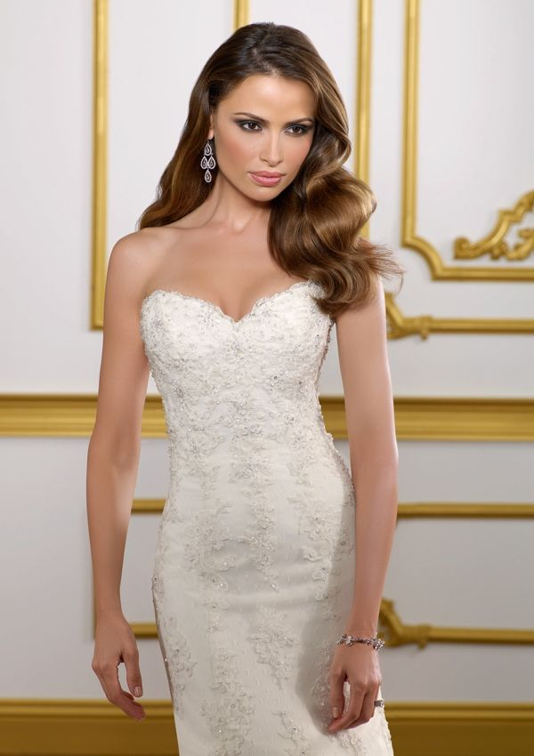 Wedding Bridal Gowns - Designer Morilee – Wedding Dress Style 1813 ...
