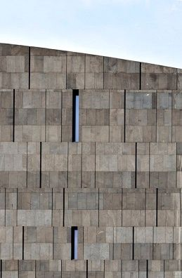 Detail Of Basalt Lava Stone Facade Museum Of Modern Art Vienna With Images Stone Facade Stone Architecture Concrete Facade