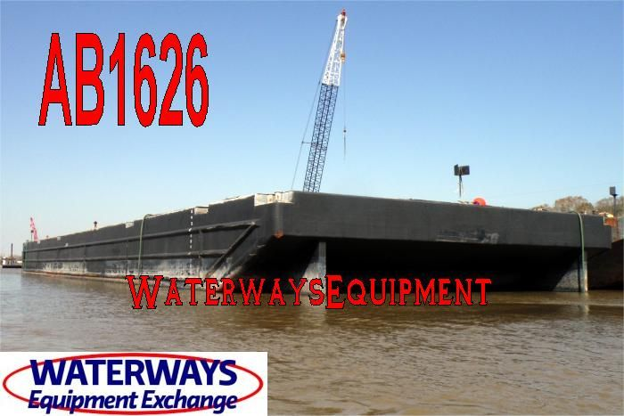 AB1626 - 250' x 72' x 16' ABS CLASS DECK BARGE