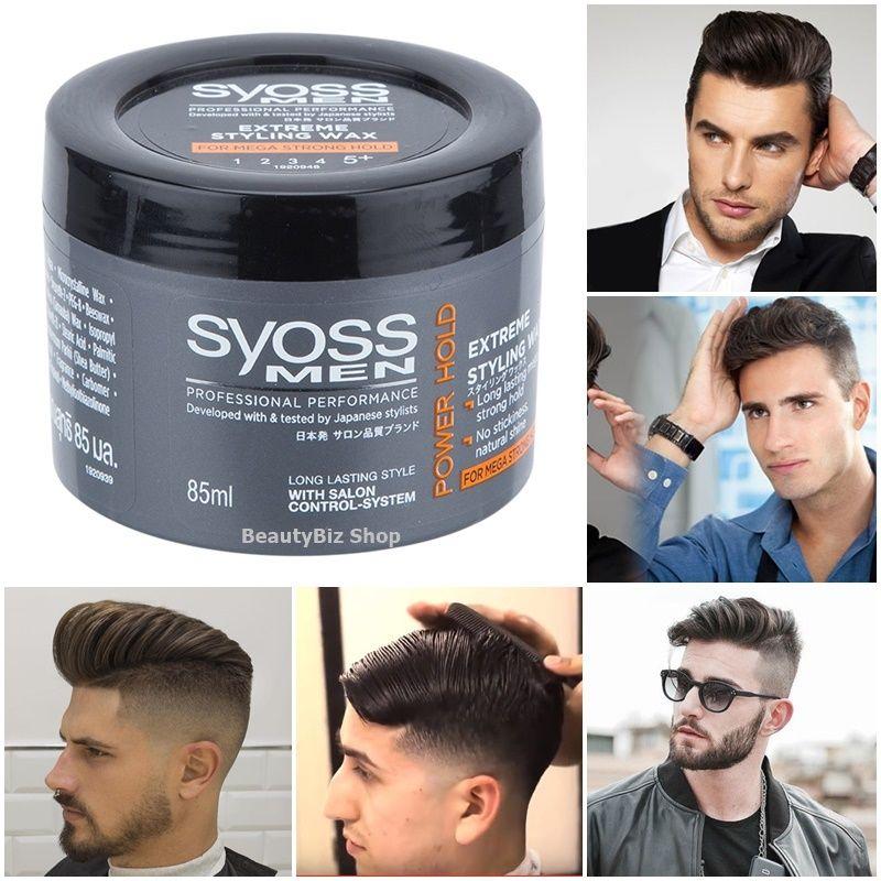 11 59 Syoss Men Hair Wax Styling Power Extreme Strong Hold Modern Fashion Funk Style Ebay Fashion Mens Hairstyles Hair Wax Modern Fashion
