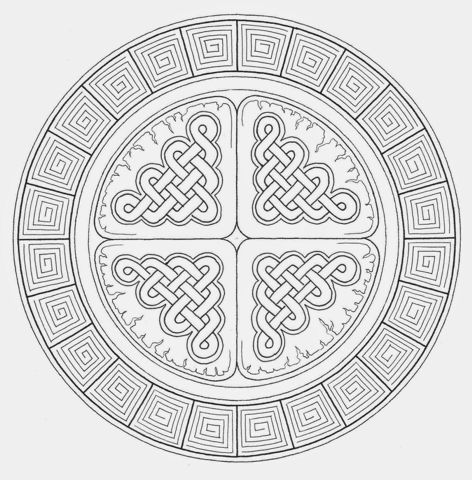 Mandala Atelier Inspiratie Workshop 3 Keltische Knoop Keltische Knopen Keltische Symbolen Keltisch