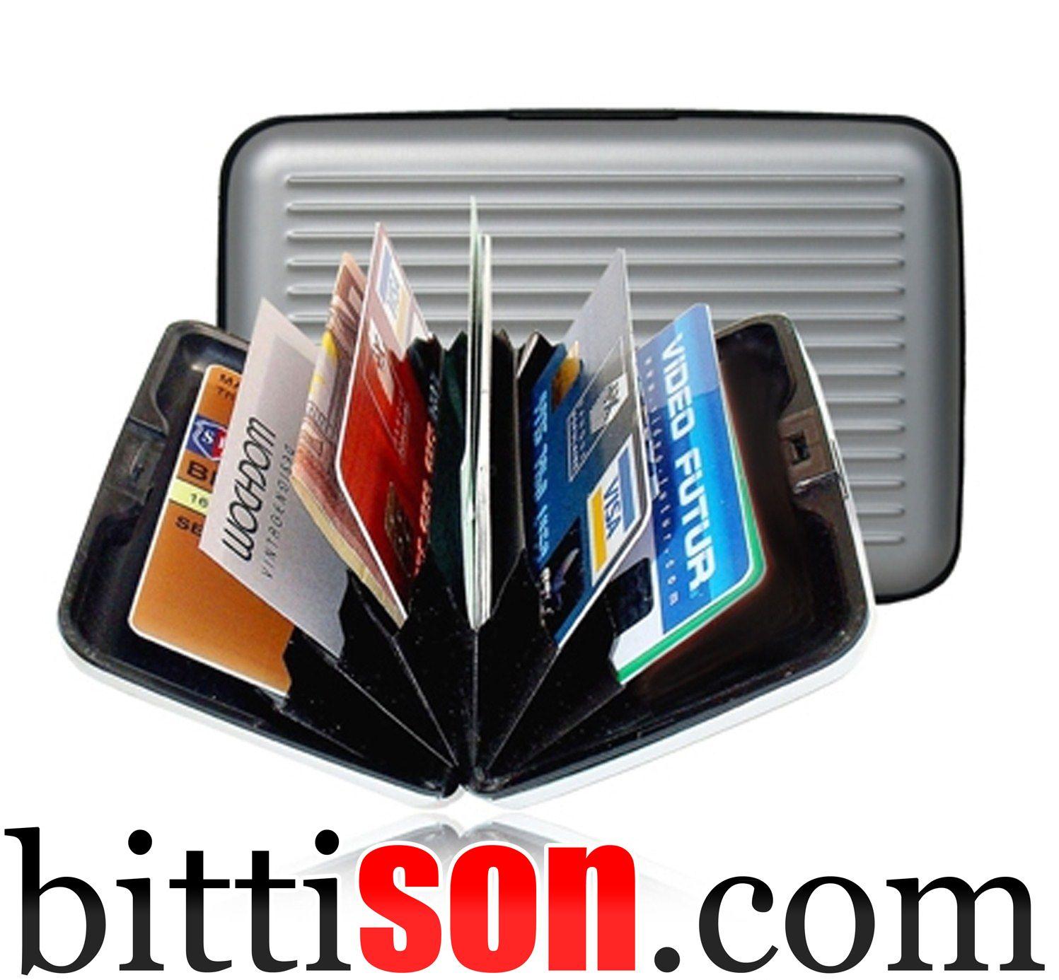 ↓↓ Ürüne Buradan Ulaşabilirsiniz ↓↓ http://www.bittison.com/aluminyum-kredi-kartlik-cuzdan.html Kredi Kartlarınız Artık Kırılmayacak ve Kaybolmayacak! Kredi kartlarınızı kırmaz, manyetik alanını ve çipini korur. 6 adet farklı göz 6 adet kart veya para da koyabilirsiniz.  #Kampanya #Kampanyalar #indirim #Alışveriş #Ucuz #Ucuzluk #EnUcuz #ÇokUcuz #Fırsat #Fırsatlar #Online #hediye #HemenAl #SatınAl #HızlıAl #Bitti #BittiSon #KapıdaÖde