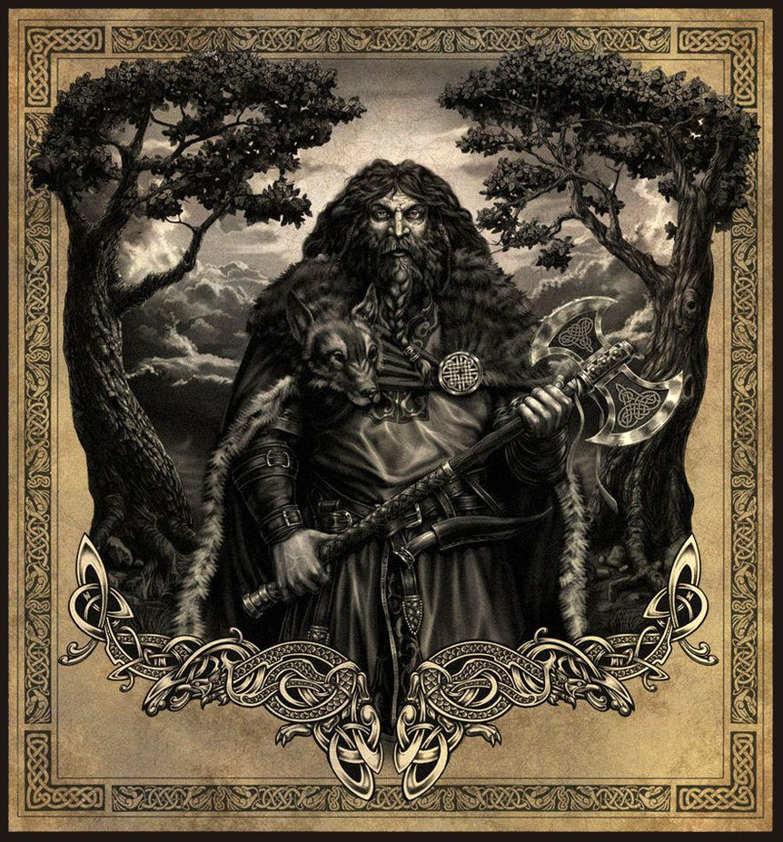 Perun Is The Slavic God Of Thunder And The Sky He Is One Of The