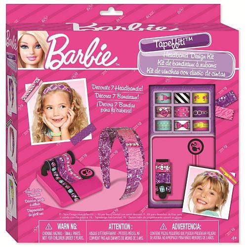 Barbie Tapeffiti Headband Kit Barbie Art Stuff For Kids Kids Playing