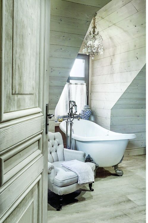 Inspiring & Dreamymore deca elegance in design- plank clad ... on vintage bathroom cabinets, country bath designs, vintage marble bathroom designs, vintage bathroom remodeling ideas, vintage blue bathroom designs,