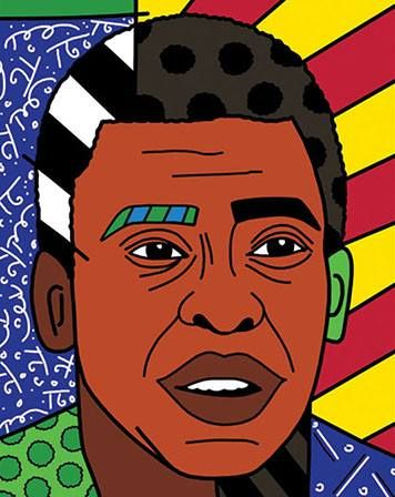 Pelé by Romero Britto