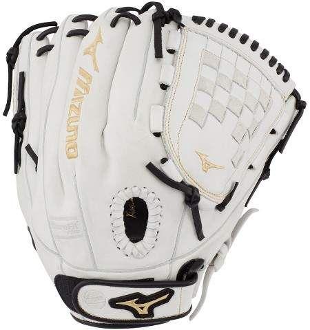 Mizuno Mvp Prime Fastpitch Softball Glove 12 Womens Size 12 In Color Left Hand White Black F009 In 2019 Products Fastpitch Softball Gloves Softball Gl