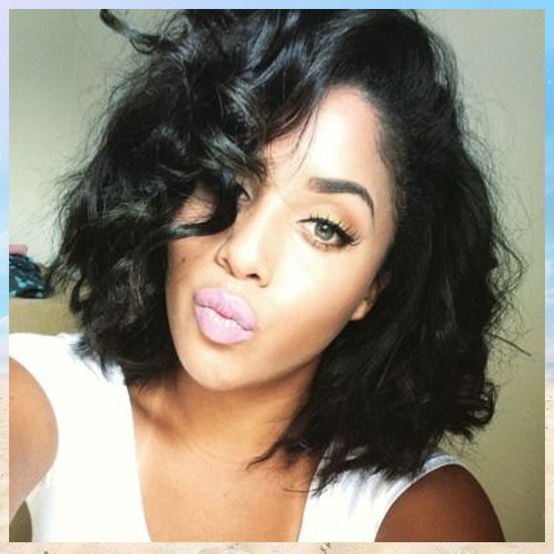 Tremendous 1000 Images About Short Hair Waves On Pinterest Long Bob Cuts Hairstyle Inspiration Daily Dogsangcom