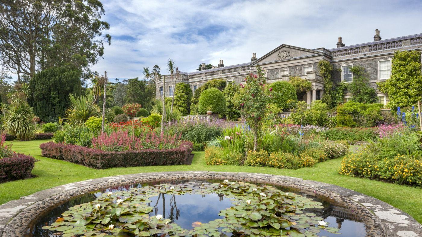 Mount Stewart | Summer garden, Pond water features, Irish ...