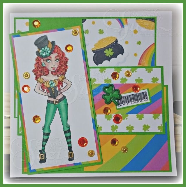 Happy St Patrick's Day with Sassy Studio Designs