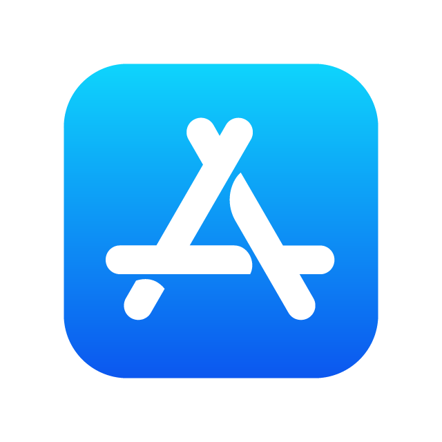 Apple App Store logo .SVG for free download Apple logo