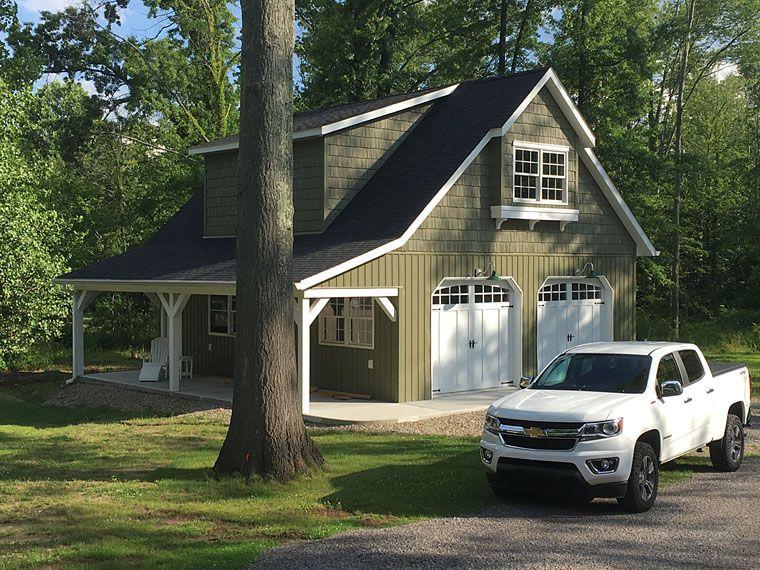 Garage Plan chp-53353 at COOLhouseplans.com #garageplans