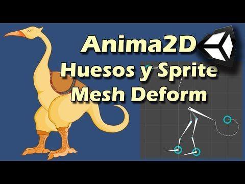 Anima2D    Huesos y Sprite Mesh Deform en Unity    Tutorial