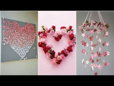 Diy Room Decor 10 Easy Crafts Ideas At Home Youtube Diy And