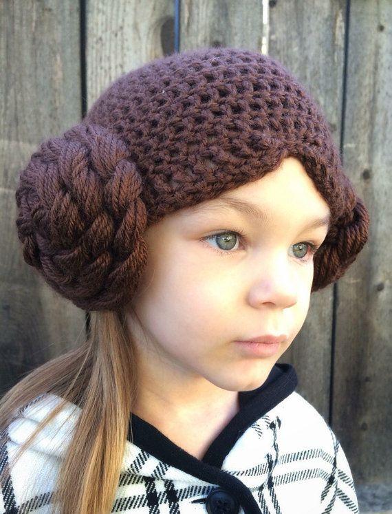 67da51b1f31 Princess Leia hat. Baby adult sizes by NattyNotions on Etsy