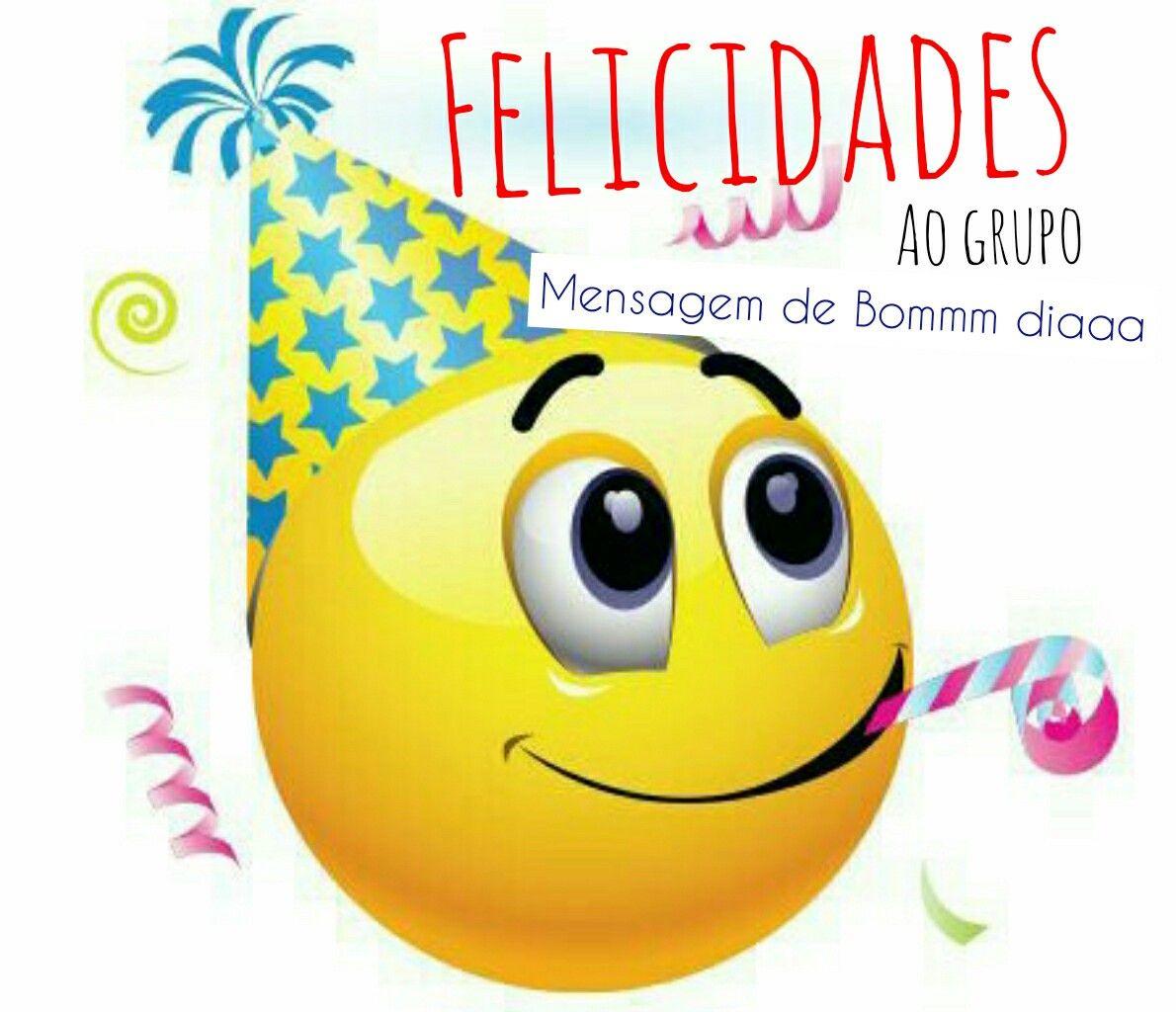 Pin de Sosilva em bem vindos Feliz aniversário, Emoticon