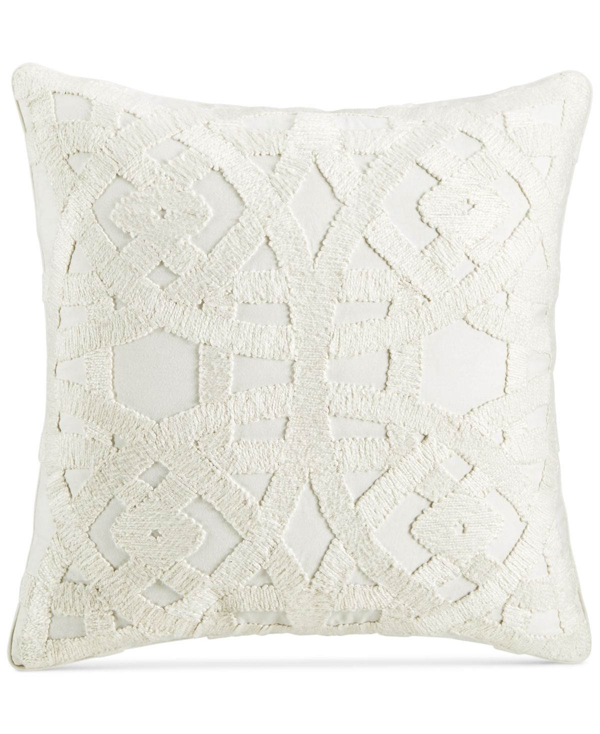 Hotel Collection Trousseau 22 Square Decorative Pillow Created