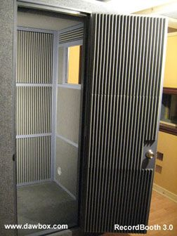 Vocal Booth Plans 4x4x7 For When We Have Our Own