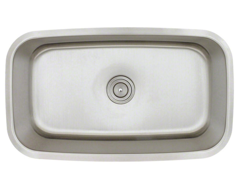 3118 sink 360 Finish SS Material 18G SS Undermount, hardware ...