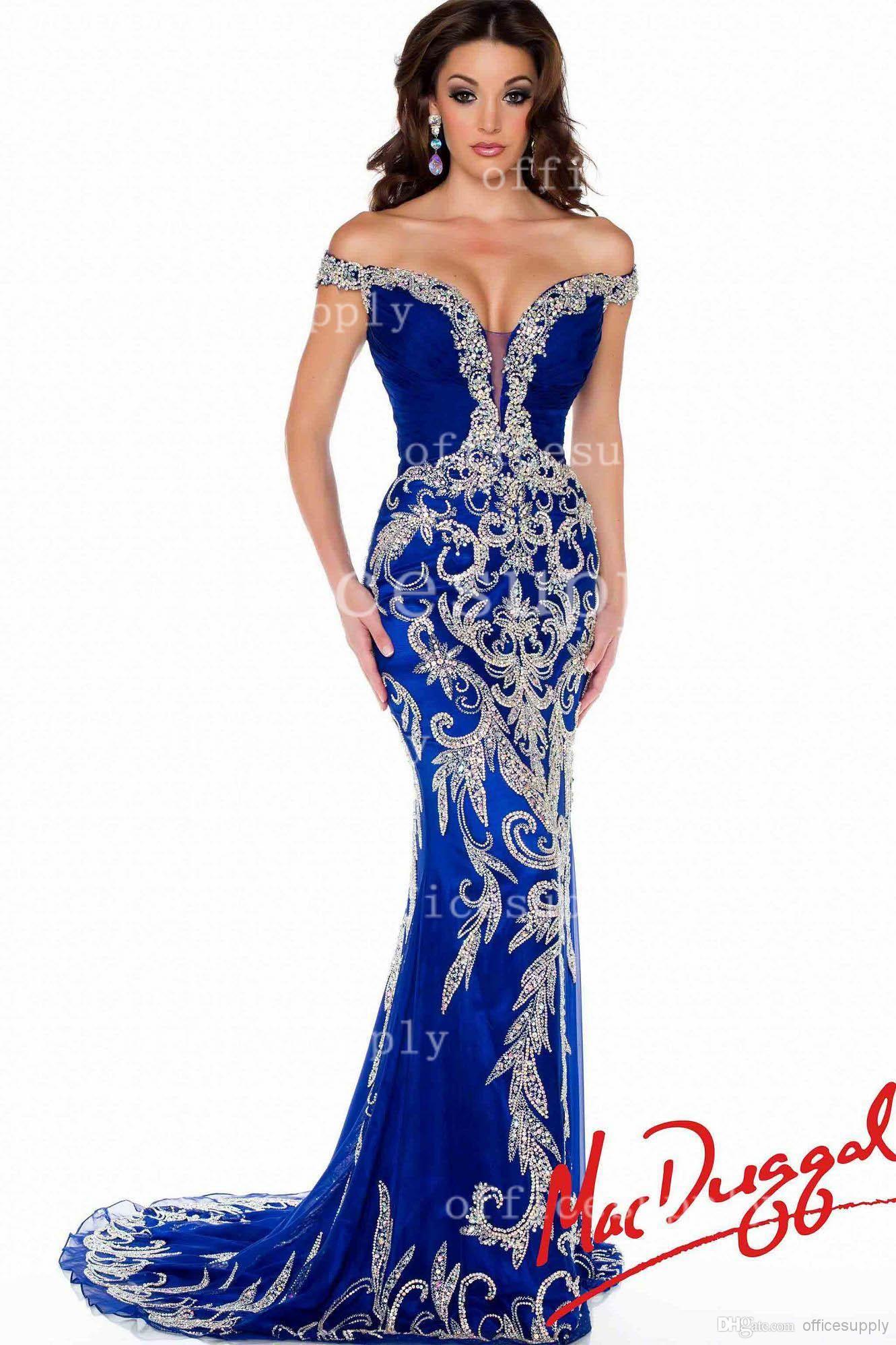 Blue Mermaid Prom Dress 2014 - Missy Dress