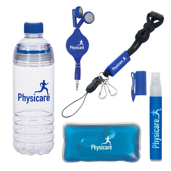 Stay Ready For Anything With The Gym Kit Along With A 28 Oz Easy