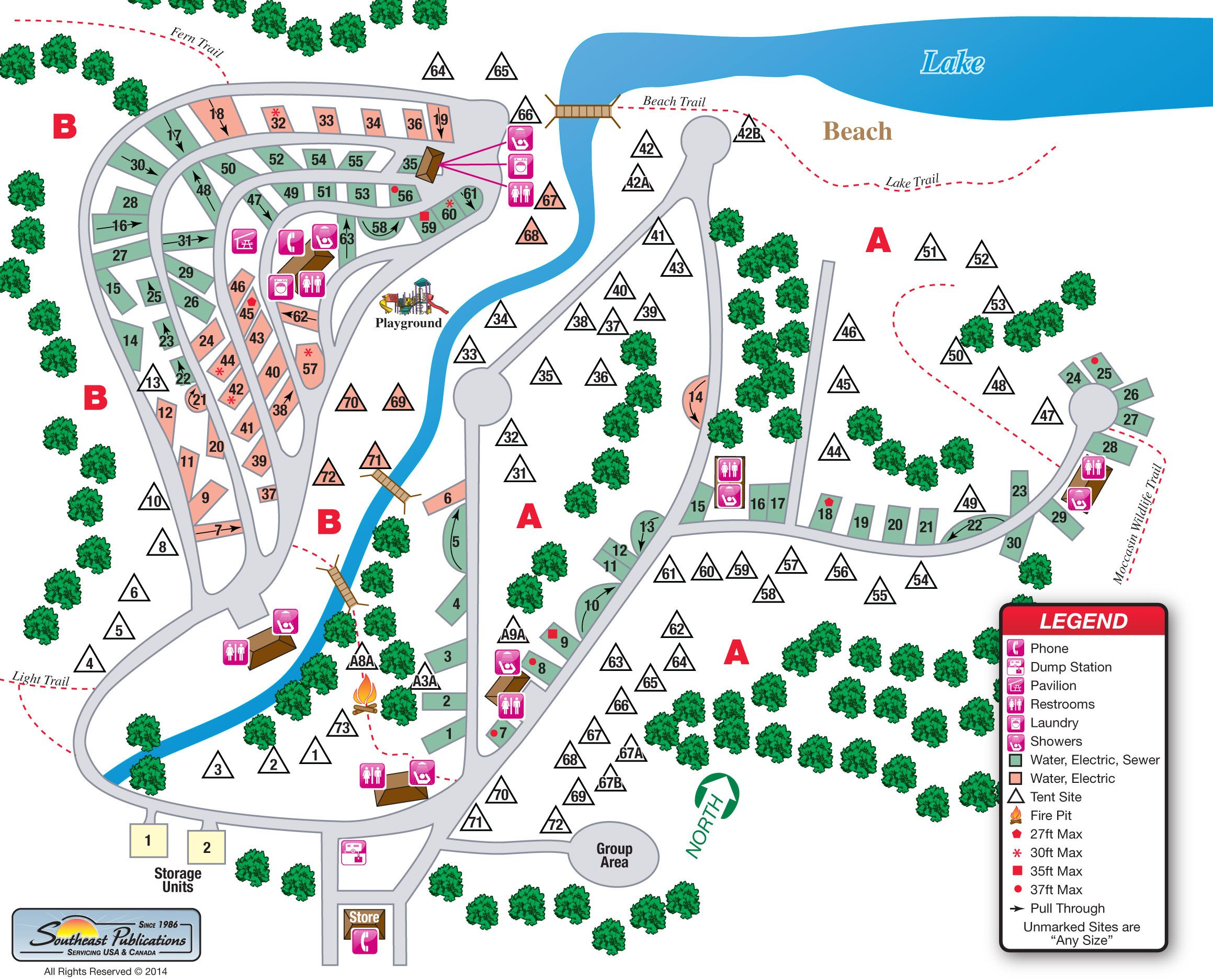 oak mountain state park campground map Google Search