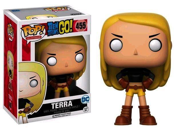 Vinyl Figure FUNKO Terra Pop Teen Titans Go