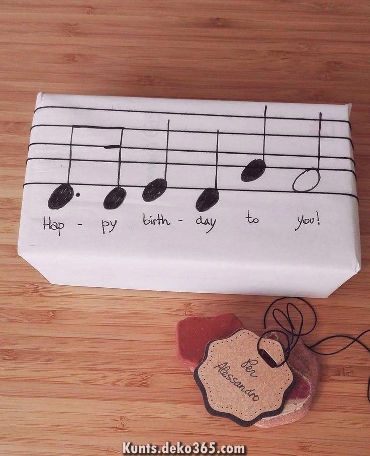 Photo of Unglaubliche Musikalische Geschenkverpackung – # Geschenkverpackung #Musik # Ver…