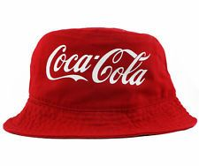 2748b4a592719 Vintage Coca Cola Bucket hat cap 5 panel snapback very rare supreme ...