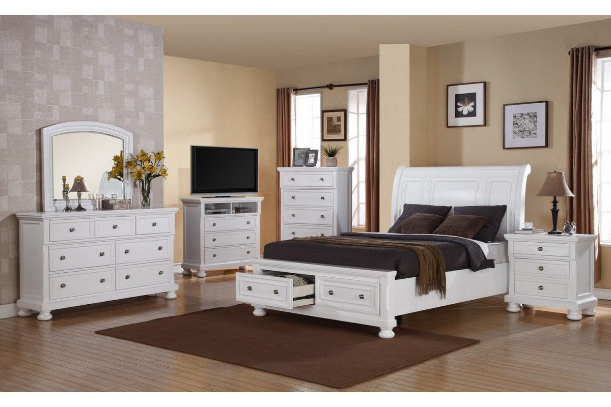 White Queen Bedroom Furniture  Bedroom sets queen, Bedroom sets