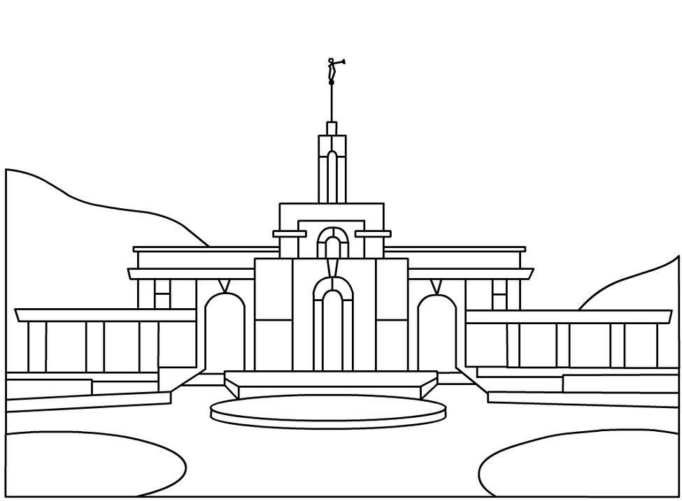 Gráfico Templo | niños | Pinterest | Templo y Mosaicos