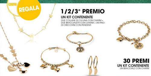 Concorso Cosmopolitan vinci gioielli S'Agapò