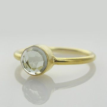 Green Amethyst Ring from Olive Yew (on sale on Fab!)