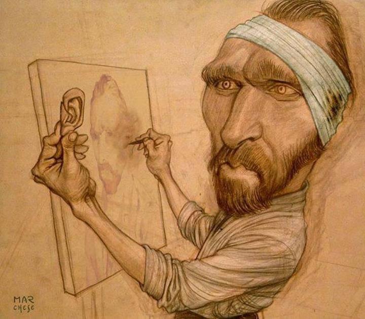 That S Why Van Gogh Cut Off His Ear