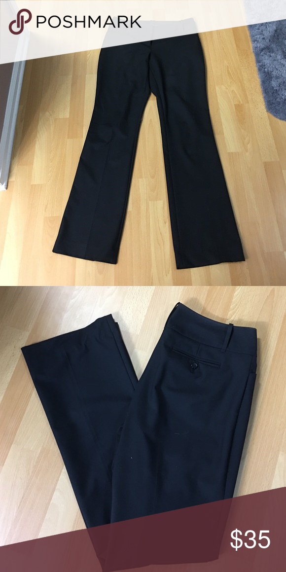 Tall Black Pants Cassidy Fit. Size 8L. Machine Washable. Perfect condition The Limited Pants Trousers