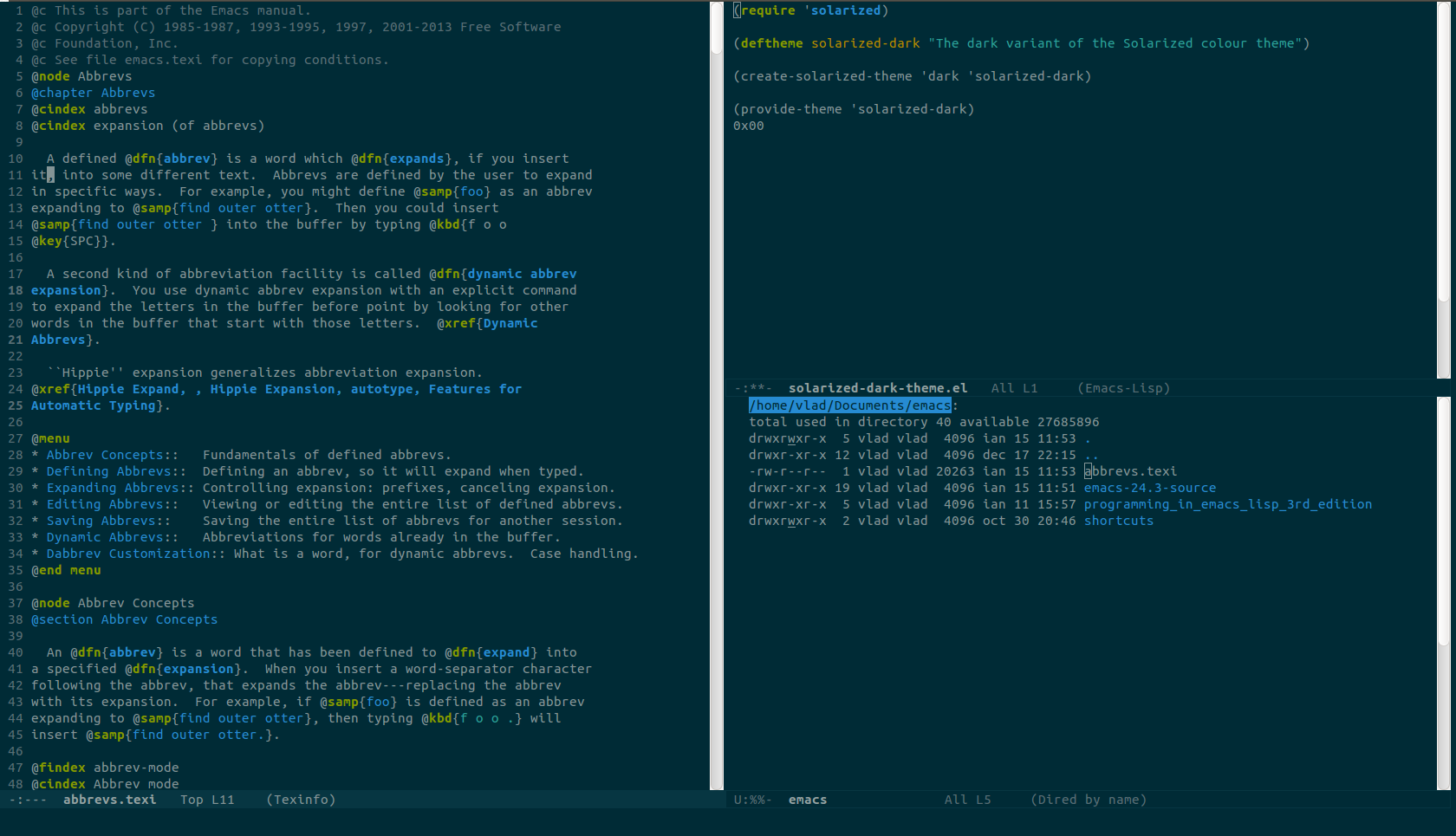Solarized dark | Themes for code and terminal | Console styling