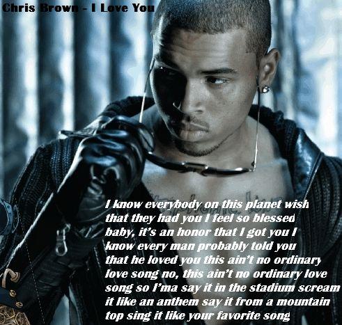 Chris Brown - I Love You (Hidden Version)