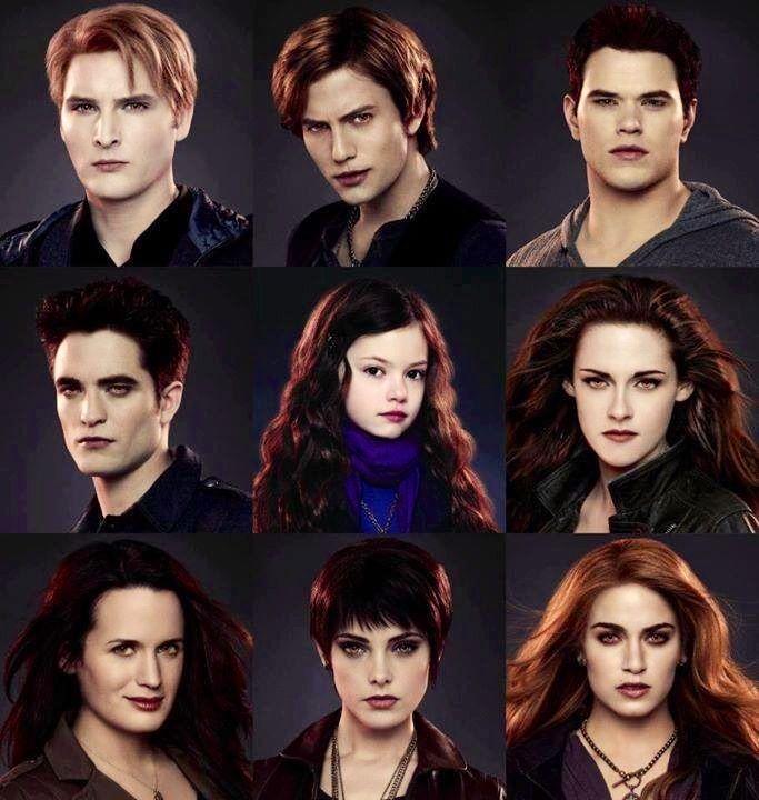 Cullen Family Vampire Twilight Twilight Pictures Twilight Poster