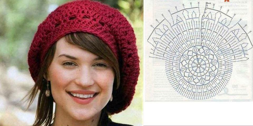 SANDRA CROCHE  Beret et crochet Hat  62fdf8b2d61