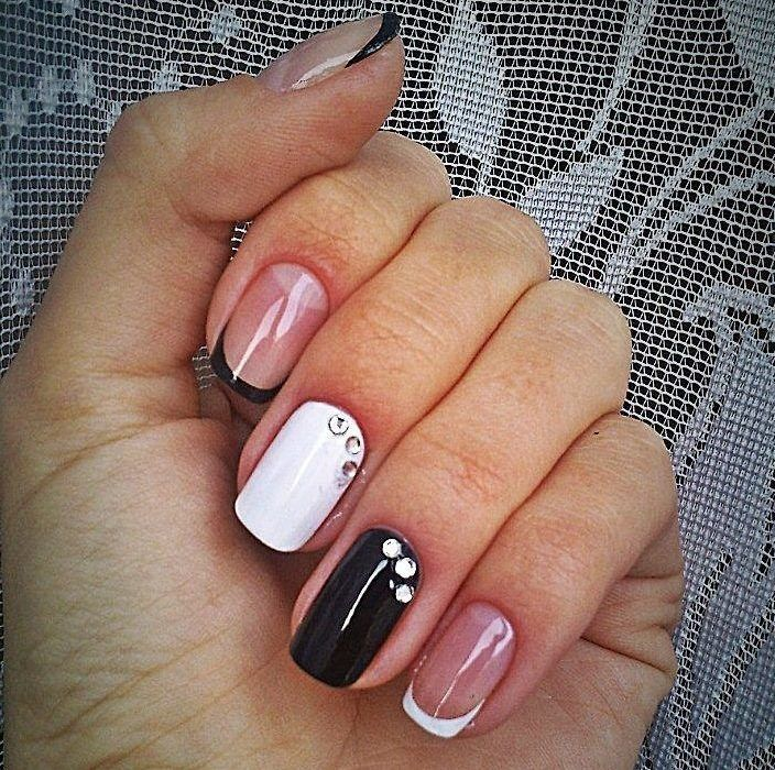 Nail Art #3788 - Best Nail Art Designs Gallery | White french nails ...